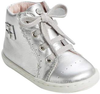 Jacadi Brioche Bow Leather Sneaker