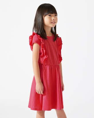 Jigsaw Ruffle Jersey Dress