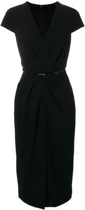 Max Mara V-neck pencil dress