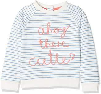 Mothercare Baby Girls' Little Marine Sweatshirt,(Manufacturer Size: 116 cms)