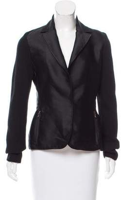 Lanvin Lightweight Notched Lapel Jacket