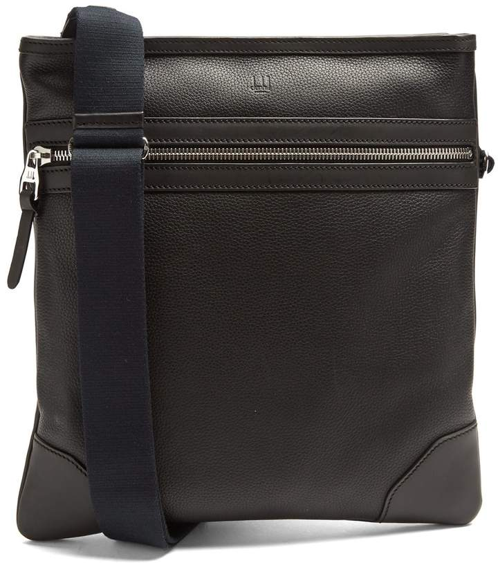 Alfred DunhillDUNHILL Boston leather messenger bag