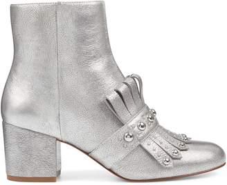 Qamile Block Heel Booties