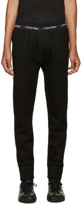 Calvin Klein Collection Black Neil Lounge Pants $550 thestylecure.com