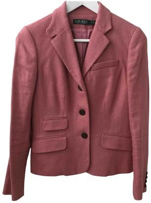Lauren Ralph Lauren Pink Linen Jacket for Women
