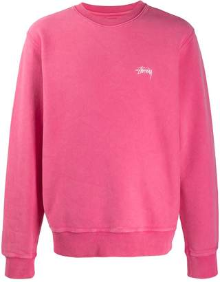 Stussy embroidered logo sweater