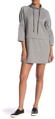 Laundry by Shelli Segal Funnel Neck Dress