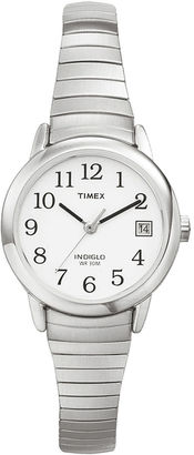 Timex Easy Reader Womens Stainless Steel Expansion Bracelet Watch T2H3719J $42.36 thestylecure.com