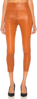 SPRWMN High Waist 3/4 Leather Legging