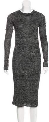 Isabel Marant Linen & Wool-Blend Dress