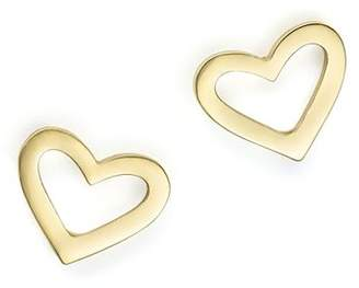 Roberto Coin 18K Yellow Gold Heart Earrings