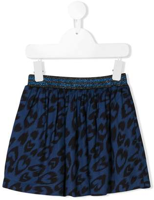 Stella McCartney leopard print skirt