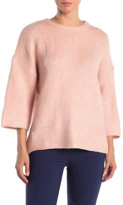 Catherine Malandrino Hi-Lo Boxy Knit Sweater