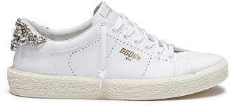 Golden Goose 'Tennis' strass leather sneakers
