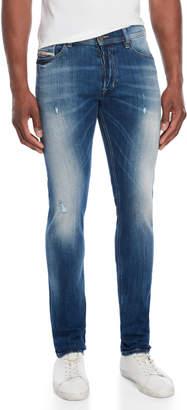 Diesel Indigo Tepphar Slim-Carrot Jeans