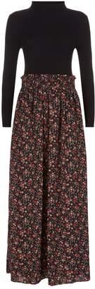 Claudie Pierlot Sweater Maxi Dress