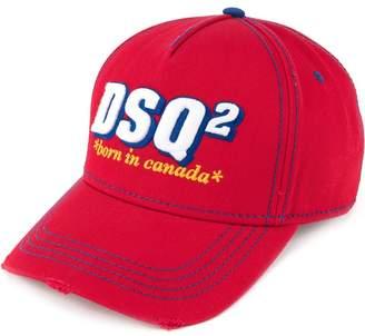 DSQUARED2 Born in Canada logo cap
