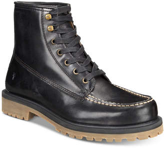 Frye Men Pine Lug Leather Work Boots, Men Shoes