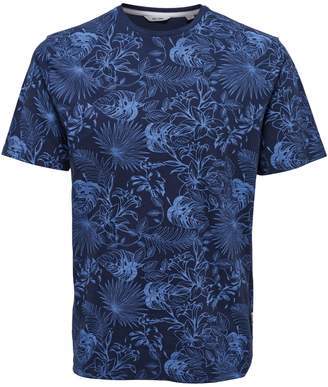 ONLY & SONS Floral Slub Cotton Tee