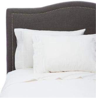 Melange Home Linen Ruffle Pillowcase