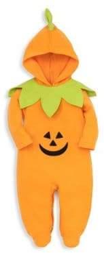 Kissy Kissy Baby's Halloween Pumpkin Hooded Footie