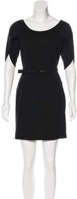 Fendi Wool Mini Dress