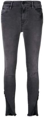 Frame Le High skinny asymmetrical jeans