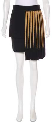 Fausto Puglisi 2017 Striped Skirt