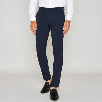 River Island Mens Blue super skinny suit pants
