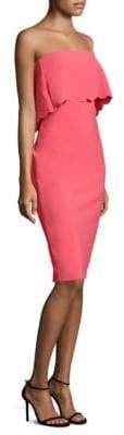 LIKELY Scalloped Knee-Length Dress