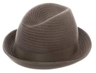 Philip Treacy Felt Fedora Hat Felt Fedora Hat