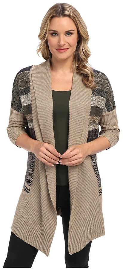 NIC+ZOE Stripe Cozy Multi