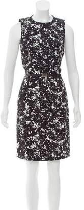 Michael Kors Printed Midi Dress