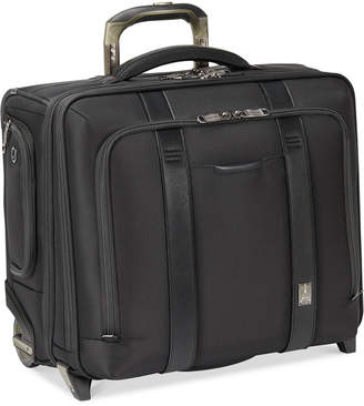 """Travelpro Crew Executive Choice 2 17"""" Wheeled Briefcase with Usb charging port"""
