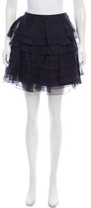Christian Dior Tiered Mini Skirt
