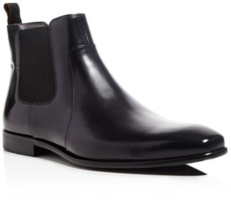 BOSS HUGO BOSS Hubot Leather Chelsea Boots $275 thestylecure.com