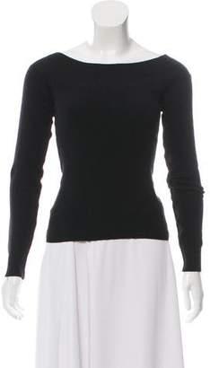 Ralph Lauren Off-The-Shoulder Knit Top
