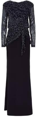Rachel Gilbert Jamilla Beaded Gown