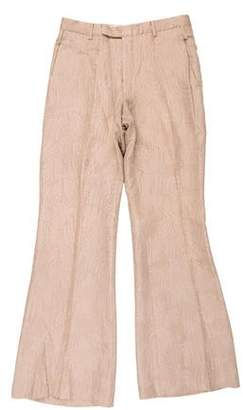 Gucci Wide-Leg Jacquard Pants