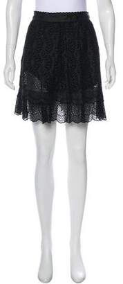 Philosophy di Lorenzo Serafini Eyelet Mini Skirt