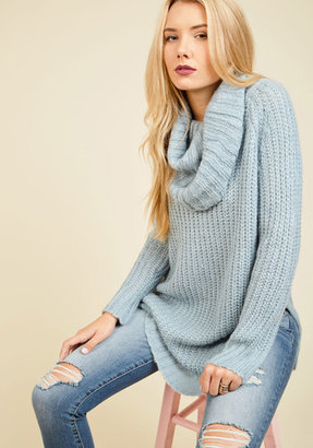 Dreamers by Debut Homecoming 'Round the Mountain Sweater in Frost $54.99 thestylecure.com