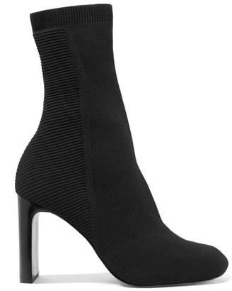 Rag & Bone Ellis Stretch-knit Sock Boots - Black