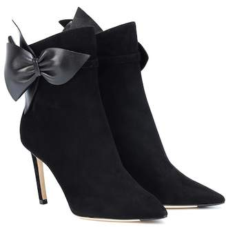 Jimmy Choo Kassidy 85 suede ankle boots