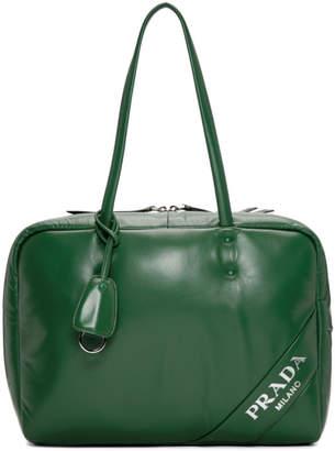 Prada Green Large Padded Bag