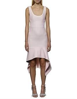 By Johnny The Ripple Panel Midi Dress