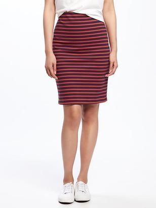 Ponte-Knit Pencil Skirt for Women $24.94 thestylecure.com