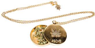 "Asche Industries Gold Locket Grinder ""Asche X Blunted Objects"""