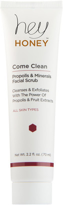 Hey Honey Online Only Come Clean Propolis and Minerals Facial Scrub