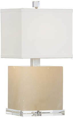 Chelsea House Block Alabaster Table Lamp - Natural