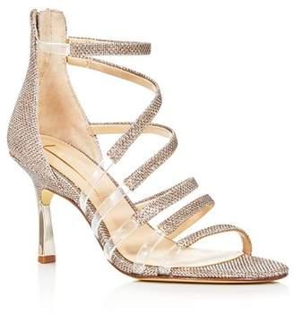 Vince Camuto Imagine Women's Roselle Glitter Strappy High-Heel Sandals